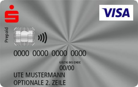 Visa Karte Prepaid.Visa Basis Visa Prepaid Sparkasse Furth