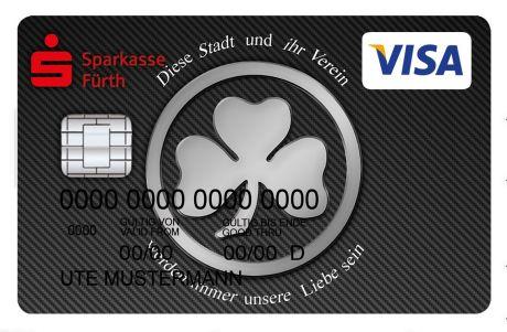 Sparkasse Ec Karte Ausland.Visa Card Standard Kreditkarte Sparkasse Furth